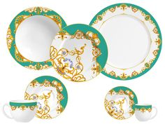 aparelho de jantar azul - Pesquisa Google