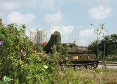 Xe pháo vào vị trí triển khai. ZSU-23-4 là một hệ thống pháo phòng không được…