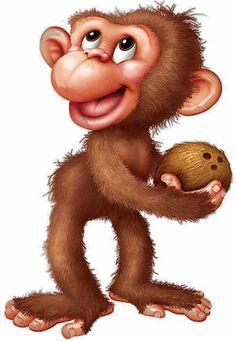 Image result for monkey clip art