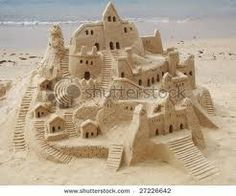 My sand castles don't look like this.