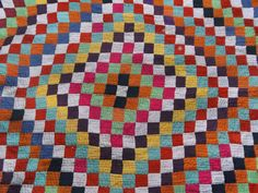 Lovely Sindhi Patchwork Ralli Quilt.  Reversible. by BlueTeddy