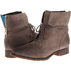 Steve Madden ankle combat booties.
