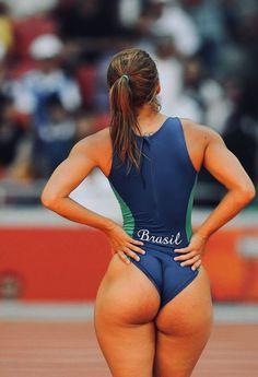 Beautiful athlete
