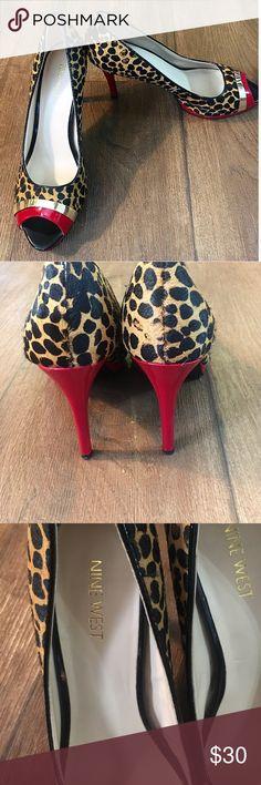 NINE WEST heels  •great condition •barley worn •beautiful heels •comfortable Nine West Shoes Heels