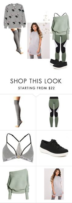 """""""Lazy Days"""" by apacheprincess ❤ liked on Polyvore featuring ToeSox, Charli Cohen, River Island and FitFlop"""
