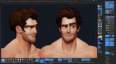 character practice :D, Dan Garcia on ArtStation at https://www.artstation.com/artwork/character-practice-d