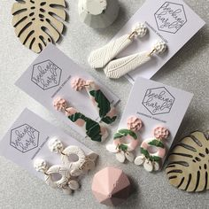 Good morning instagram world! I'm loving these beautiful fresh styles  . . . . #handmade #handmadejewelry #jewellery #jewellerydesigner #etsy #etsyshop #etsyfinds #etsystore #etsyseller #polymerclay #polymerclayjewelry #polymerclayearrings #statement #statmentearrings #etsy #etsyshop #etsyfinds #etsystore #etsyseller #shoplocal #supportsmallbusiness #supporthandmade