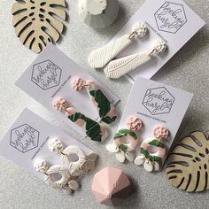 Good morning instagram world! I'm loving these beautiful fresh styles . . . . #handmade #handmadejewelry #jewellery #jewellerydesigner #etsy #etsyshop #etsyfinds #etsystore #etsyseller #polymerclay #polymerclayjewelry #polymerclayearrings #statement #statmentearrings #etsy #etsyshop #etsyfinds #etsystore #etsyseller #shoplocal #supportsmallbusiness #supporthandmade