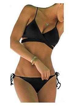 Oferta: 5.99€. Comprar Ofertas de ZAIQUN Escotado Bañador con Acolchado Bikini Ropa de Baño barato. ¡Mira las ofertas!