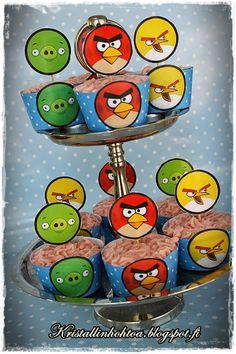 Angry Birds synttärit Lasten synttärit koristeluideoita