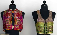 Two Women's Folk Vests, Slovakia, 1850-1899, Augusta Auctions, November 13, 2013 - NYC, Lot 419
