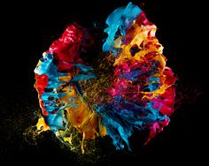 Pop Art: Gorgeous Blooms of Paint, Made With Exploding Balloons | Wired Design | Wired.com