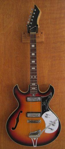 halbakustische violin jazz gitarre vintage guitar w herold ddr berholt top 60er ebay. Black Bedroom Furniture Sets. Home Design Ideas
