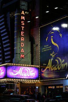 Theatre Marquee for Aladdin