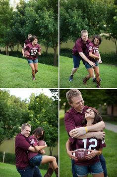 We are hoping to do a shoot similar to this for our 5 yr anniversary, but with our Cowboys Jersey's and our Fav Basketball teams jerseys.