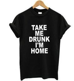 Take Me Drunk I'm Home Women's Graphic T Shirt