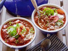 Game-Day Chili - Recipe courtesy of Geoffrey Zakarian