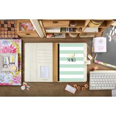 Keep Yourself organized!  Plenty of room for several notebooks, stickers and pens & many pockets to tuck in life moments.  Our Composition Planners contain a high quality notebook to write down your thoughts, take notes, get creative & document your life.   INCLUDES:  1 Composition Notebook (additional notebooks available)  SIZE:  11X9X1 Visit our website for more products and ideas at www.websterspages.com