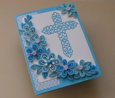 Quilling Baby Boy Card  New Boy Unique Baby Card Hand Made