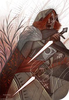 Dragon Age - Inquisitor Lavellan, Dalish elf