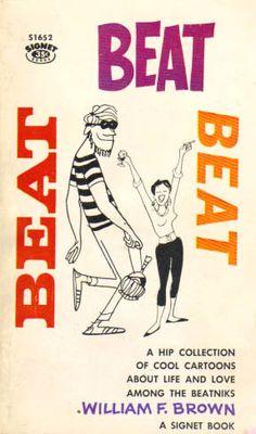 vintage beatnik art -