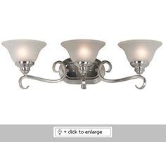 Welles Bathroom Light Fixture  Item# Welles  Regular price: $124.00  Sale price: $105.50