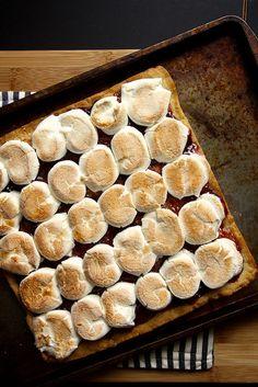 Toasted Marshmallow Squares / joy the baker