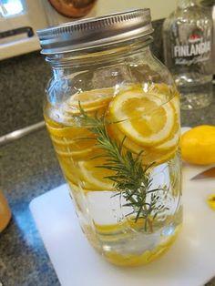 Meyer lemon and rosemary