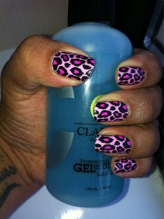 Jessica Nailsy Professional Nail Foils in Pink Kitty. Me-ow. Professional Nail Designs, Youtube Nail Art, Leopard Print Nails, Nail Patterns, Foil Nails, Nail Art Hacks, How To Apply, How To Make, Flower Tattoos
