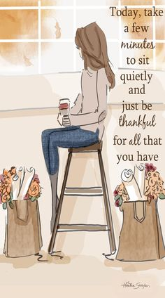 Wall Art for Women - Just be Thankful - Wall Art Print - Art Digital Print - Wall Art - Print- Wandkunst für Frauen – nur dankbar sein – Kunstdruck/Poster Wand – Kunst-Digitaldruck – Wall Art – Print Take a few minutes to sit quietly and be … - Great Quotes, Quotes To Live By, Me Quotes, Motivational Quotes, Woman Quotes, Qoutes, Truth Quotes Life, Daily Quotes, Thank You God Quotes