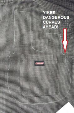Japanese Knot Bag Upcycled From A Men's Shirt                                                                                                                                                                                 More
