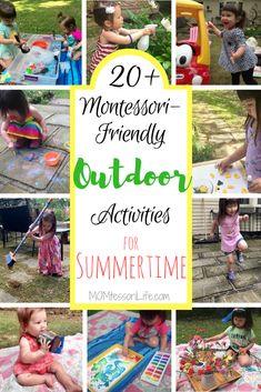 20+ Montessori-Friendly Outdoor Activities for Summertime