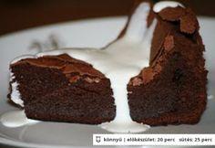 Angol csokoládétorta - liszt nélkül