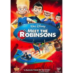 meet the robinsons: Movies & TV Kid Movies, Family Movies, Disney Movies, Disney Pixar, Children Movies, Walt Disney, Meet The Robinson, Robinson Family, Disney Animation