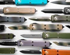 A Smorgasbord of Microtech Ultratech OTF Knives