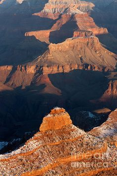 Grand Canyon from Yaki Point; photo by Clarence Holmes