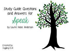 speak anderson essay questions