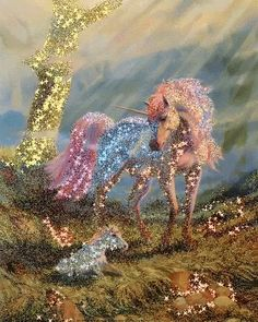The perfect Sparkles Unicorn Fabulous Animated GIF for your conversation. Discover and Share the best GIFs on Tenor. Beautiful Unicorn, Beautiful Gif, Animals Beautiful, Unicorn And Fairies, Unicorns And Mermaids, Unicorn Horse, Unicorn Art, Cute Fantasy Creatures, Mythical Creatures