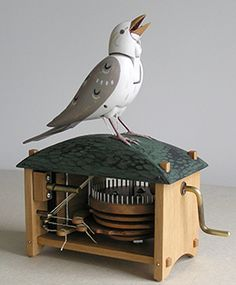 Wooden Heirloom Automata - Bliss Kolb Automata