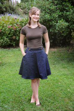 Hollyburn skirt en jean