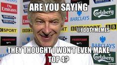Smile Opa Arsene Wenger... :)