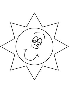spring sun Coloring Pages | Nature # Sun Coloring Pages