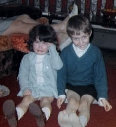 Danny Bowes' Gallery Danny and his sister in the 60s