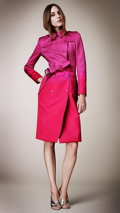Gorgeous ombre trench from SS 2013 #burberry runway show!