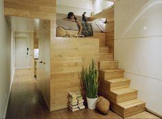 JPDA, East Village Studio, green design, small nyc apartments, tiny new york apartments, small spaces, small living, green interiors