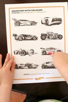 Hot Wheels FUNdamentals - Learning Activities - FREE printables!