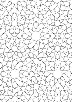 Islamic Pattern coloring page from Pattern category. Select from 26768 printable crafts of cartoons, nature, animals, Bible and many more.