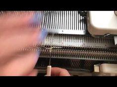 Закрытие петель резинок на двух фонтурах. - YouTube