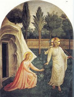 Fra Angelico ° Noli Me Tangere (Cell #1, San Marco , Florence)