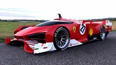imagem de Aparentemente alguem flagrou um protótipo da Ferrari para correr em Lemans